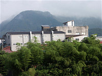 Kaetsu Brewery in the summer